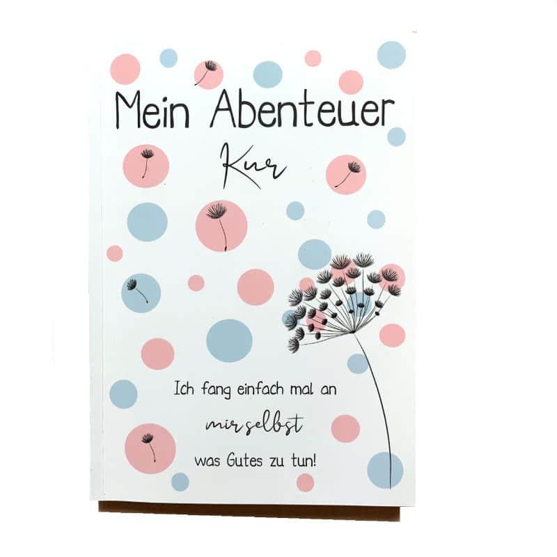 """Kurtagebuch """"Mein Abenteuer Kur"""""""
